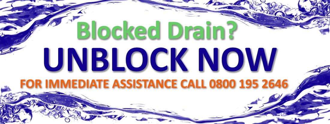 Blocked Drain - Unblock Now